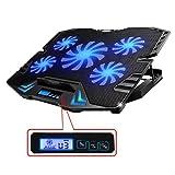 TopMate C5 12-15,6 Zoll Gaming Laptop Kühler...