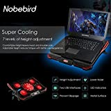 Laptop Kühler für 12-17,3 Zoll,Ultra Leise...