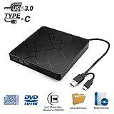 Externes CD DVD Laufwerk USB 3.0 MILFECH Tragbar...