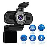 Full HD Webcam 1080p Videokamera mit...