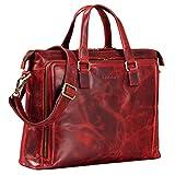 STILORD 'Claire' Businesstasche Damen Leder 15...