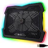 KLIM Ultimate + Laptop-RGB-Kühler- 11 bis 17 Zoll...