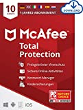 McAfee Total Protection 2021 | 10 Geräte | 1...