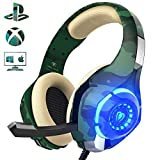 Beexcellent Gaming Headset für PS4 PC Xbox One,...