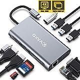VaKo 12 Ports Docking Station USB C Hub...