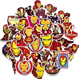 BOSSTER Aufkleber Pack 35 stück Iron Man Graffiti...